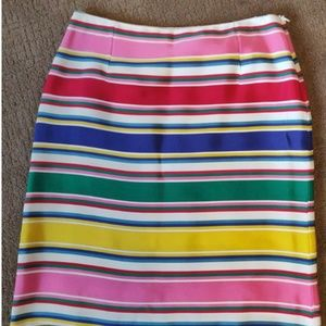 J Mclaughlin Striped Skirt